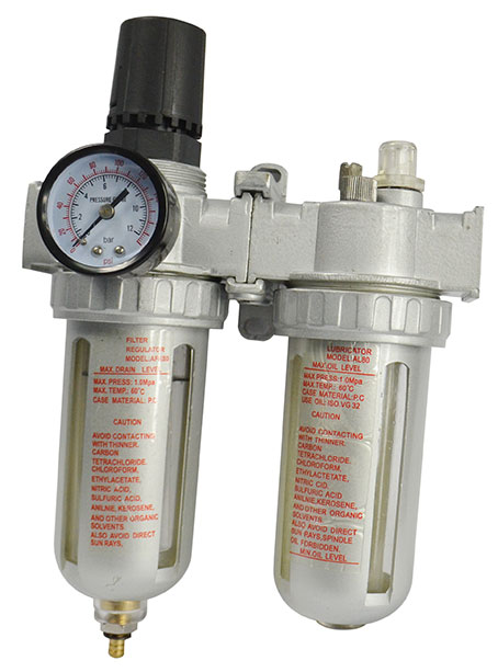 10170 -  Air Filter Regulator & Lubricator