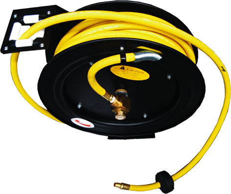 10333 - Heavy Duty Retractable Rubber Air Hose Reel