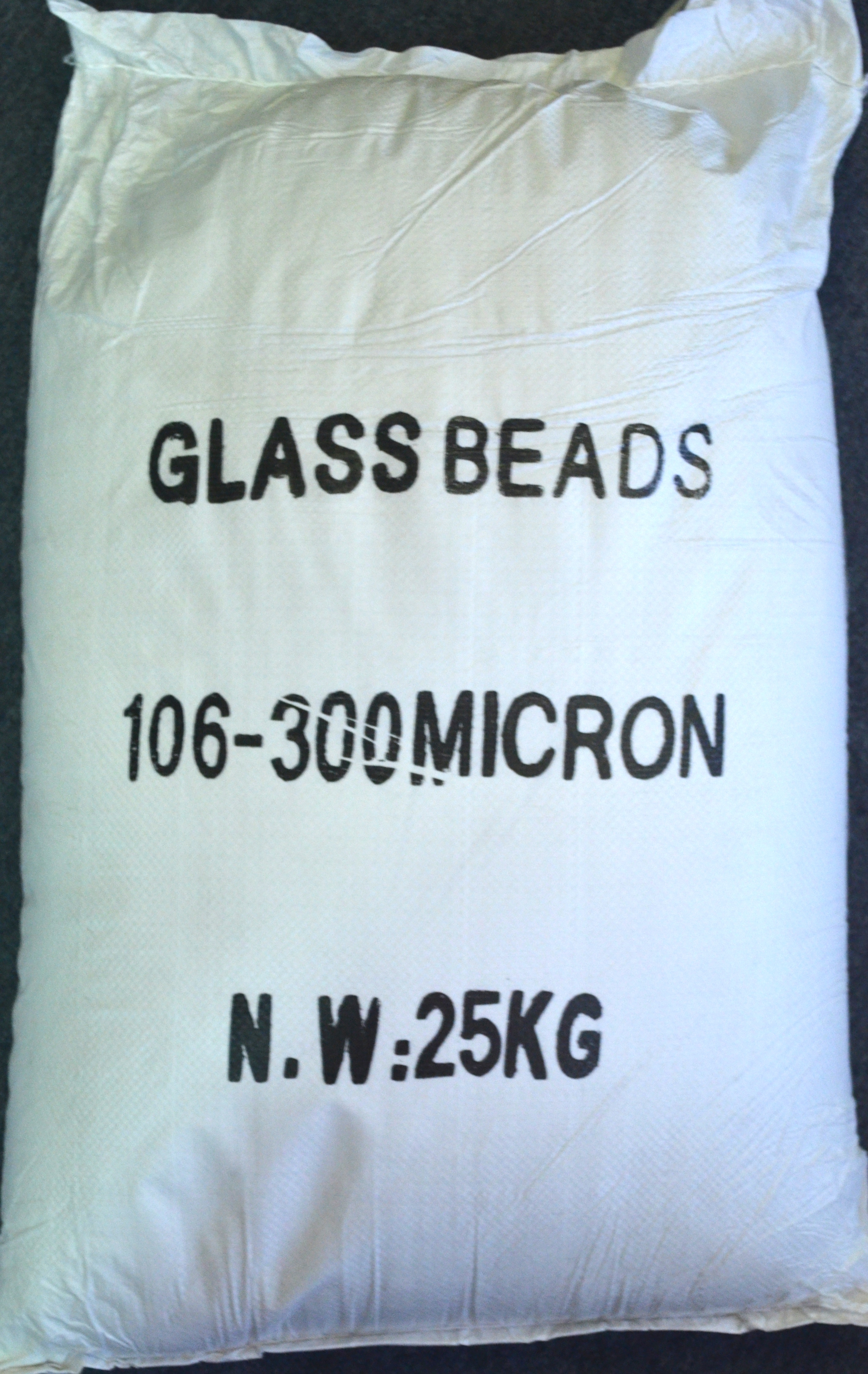 15001 - Glass Beads 106-300 Micron 25kg