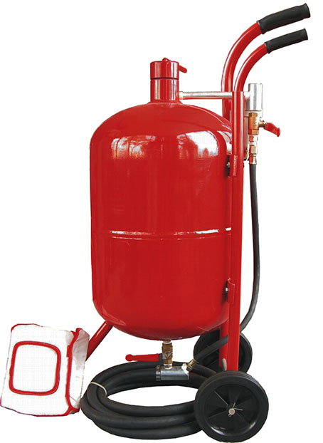 15009 - 10(38LT) Gallon Portable Sandblaster Kit