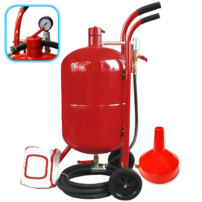 15009 - 10 Gallon (38L) Portable Sandblaster Kit