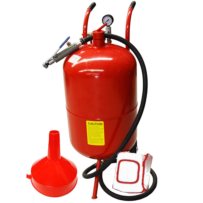 15020 - 20 Gallon (76Lt) Portable Sandblaster Kit