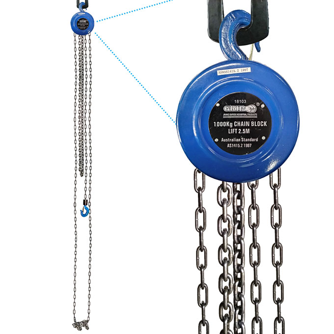 18103 - Grip 1000kg Chain Block
