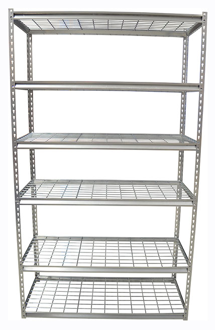 29200 - Steel Shelving with Wire Decking 6 Tier
