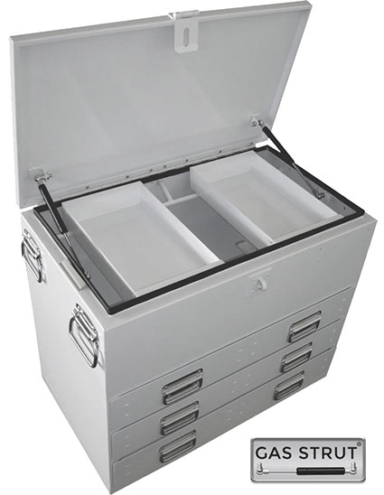 29281 - Steel Ute Toolbox 702x404x590mm