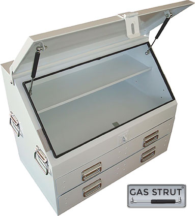 29284 - Steel Upright Toolbox 702 x 404 x 585mm