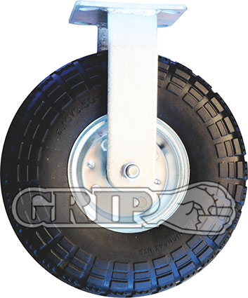 41976 – PUNCTURE PROOF FOAM RUBBER CASTOR WHEEL(Fixed)