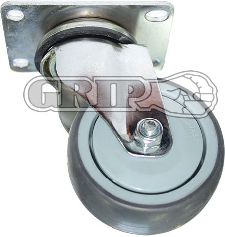 42072 - GREY TPR CASTOR(Swivel)