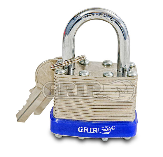 43530 - 4 Pc Laminated Padlock Set