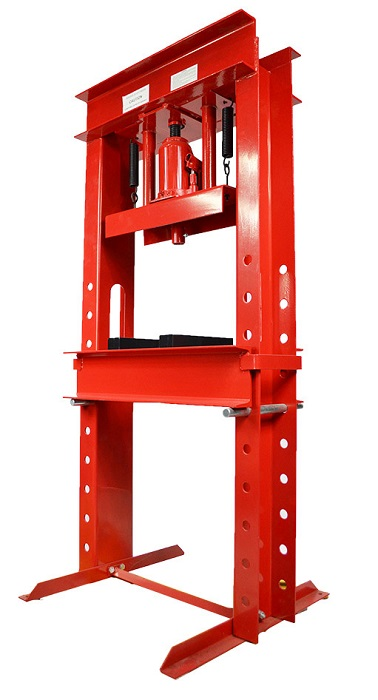 50054 Professional Fully Welded H Frame 30 Ton Shop Press