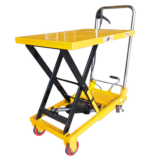 52013 - Scissor Lift Hydraulic Table Cart 150Kg