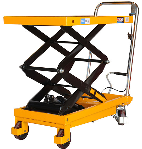 52015 - Double Scissor Lift Hydraulic Table Cart 350Kg