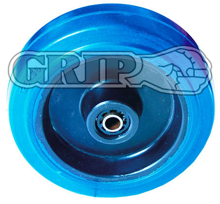 52050 - 100MM BLUE ELASTIC RUBBER WHEELS