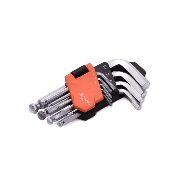 540603- Harden 9 Piece Metric Short Ball-End Hex Key Wrench Set.