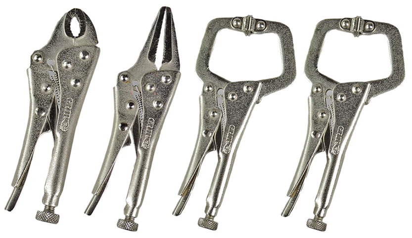 56035 - 4 Piece Mini Locking Plier Set
