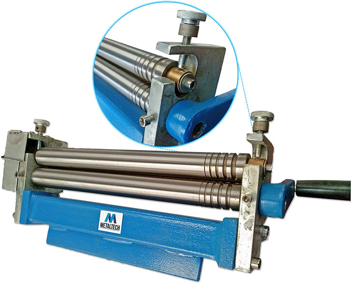 81150 - Metaltech 300mm Manual Sheet Metal Roller