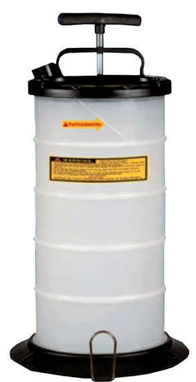A16200 - 9.5 Litre Manual Fluid Extractor