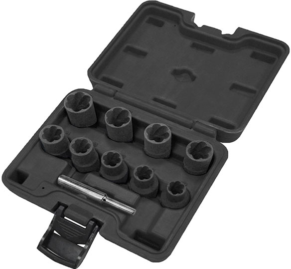 "A53061 - 10 Pc 1/2"" Sq. Dr. Twist Socket Set"