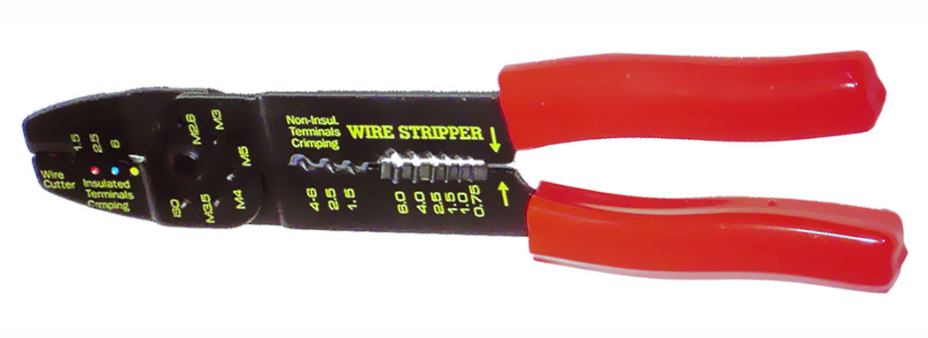 A57201 - 222mm Crimping Tool and Wire Stripper