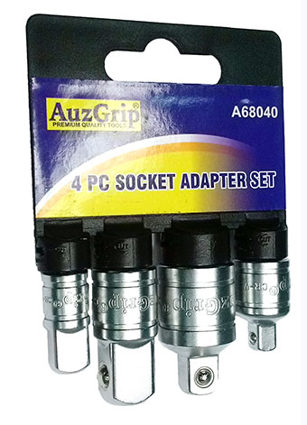 A68040 - 4 Pc Socket Adaptor Set