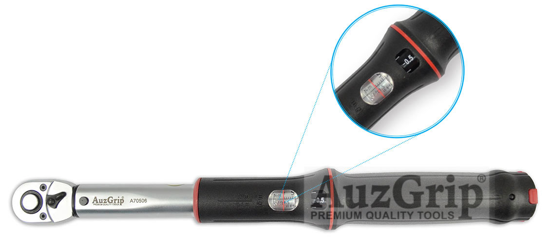 "A70506 -  1/4"" Sq. Dr. 2-25Nm Torque Wrench"