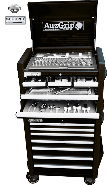 A76025 - 259 Pc Metric Tool Chest and Roller Cabinet