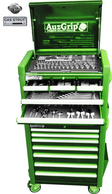 A76028 - 259 Pc Metric Tool Chest and Roller Cabinet