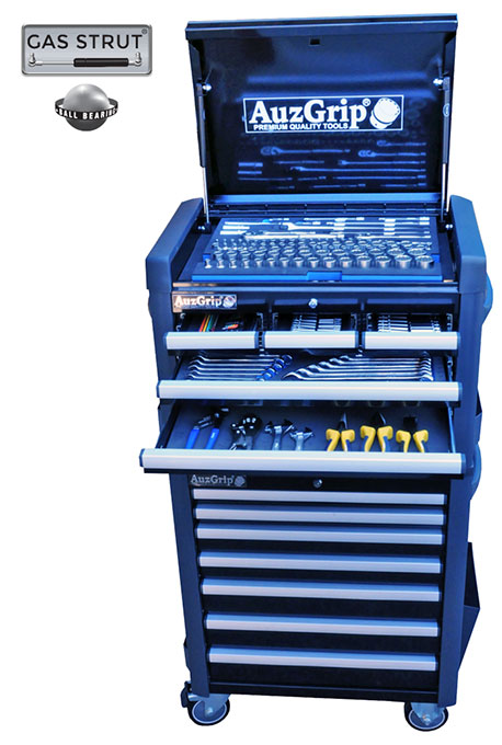 A76026 - 259 Pc Metric Tool Chest and Roller Cabinet