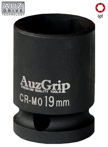 "A84620 - 1/2"" Sq. Dr. 6Pt Impact Socket Metric 8mm"