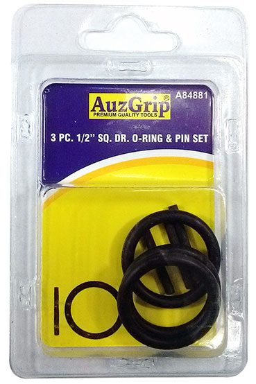 "A87236 - 3 Pc 1"" Sq. Dr. O-Ring & Pin Set"