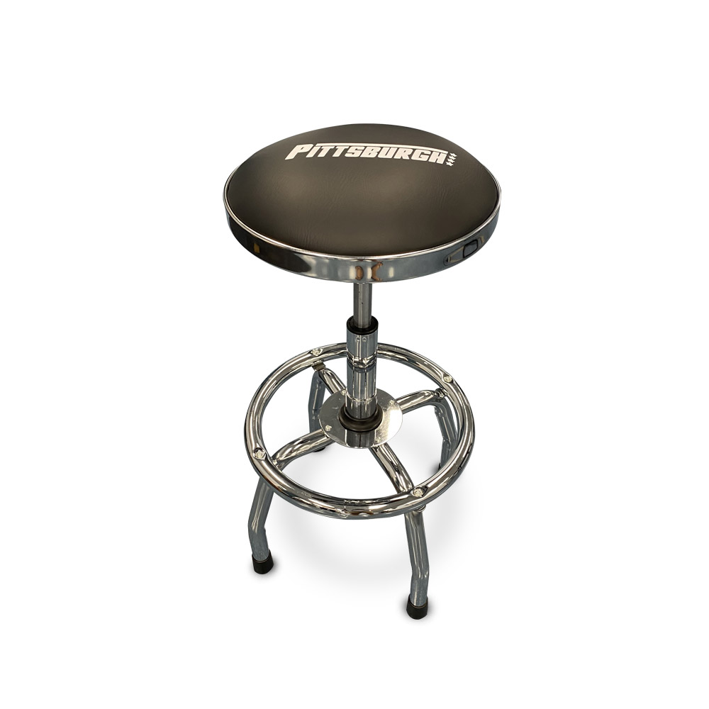 P20307 - Pneumatic Stool 360mm Round Padded Seat