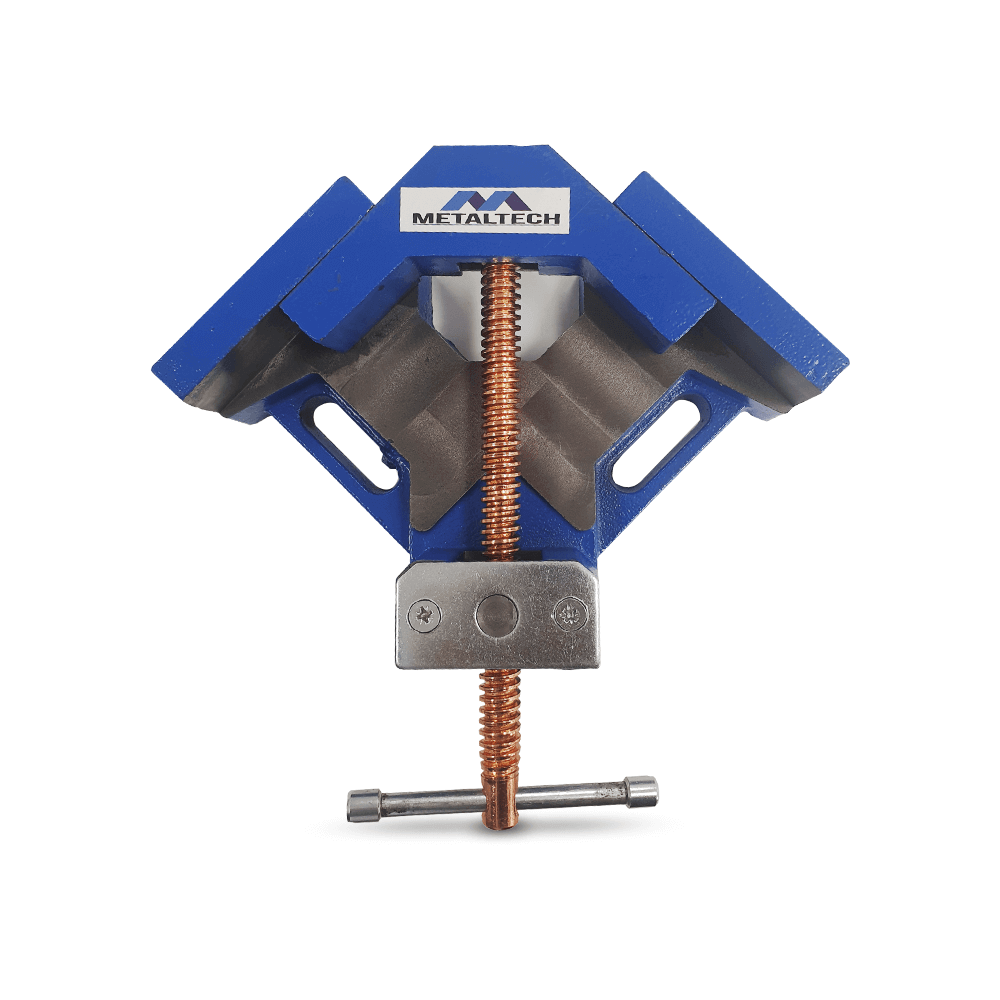 MTWV100 - 90-degree 100mm Angle Vice Clamp / Welding Vice
