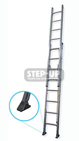 ST11054 - 4.4-7.7m Aluminium Extension Ladder