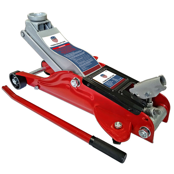 T825010-1700kg Pittsburgh Low Profile Hydraulic Trolley Jack