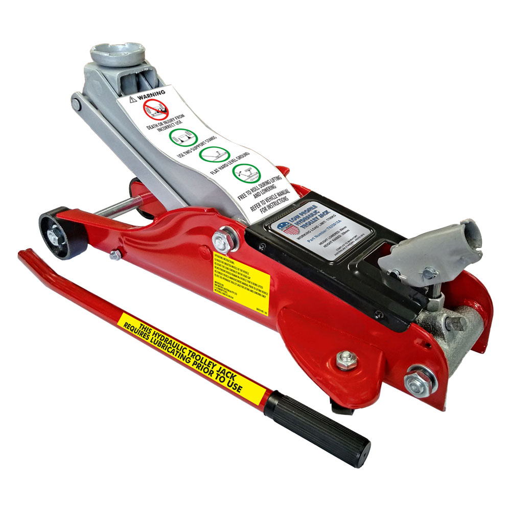 T825010A-1700kg Pittsburgh Low Profile Hydraulic Trolley Jack