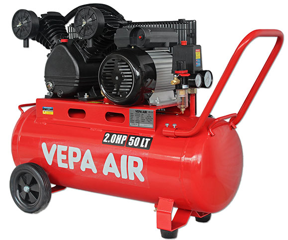 VABD20-50 2.0HP 50 Litre Belt Drive Air Compressor