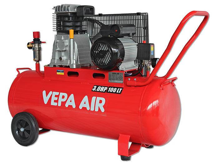 VABD30-100 3.0HP 100 Litre Belt Drive Air Compressor