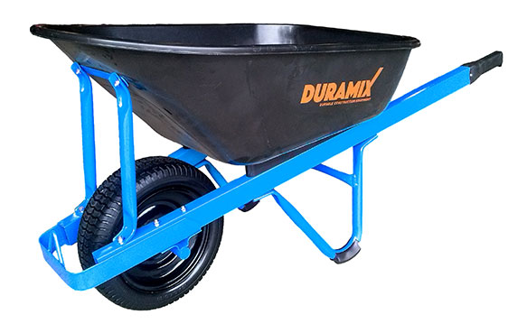 DMCPT100FF - Premium Poly Tray General Purpose Wheelbarrow