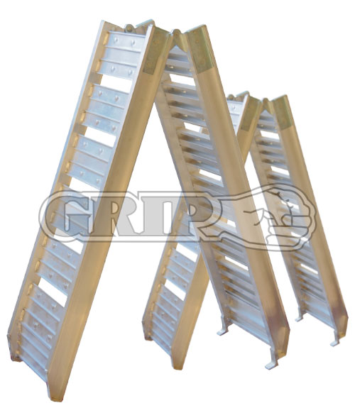 18505 - 200Kg Foldable pair of Aluminum Loading Ramps