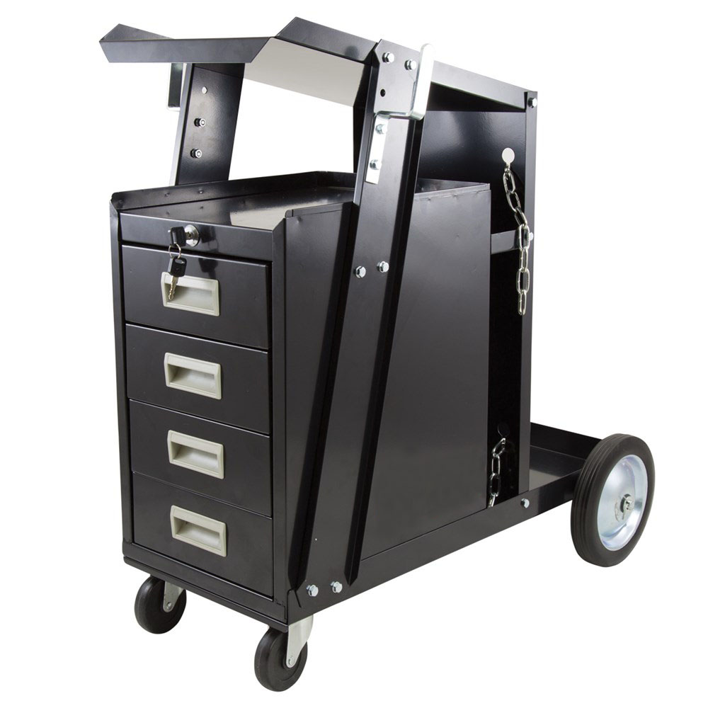 85169   Deluxe 4 Drawers Welders Cart