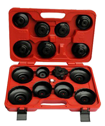 A16250 - 16 Pc Oil Filter Cap Wrench Set