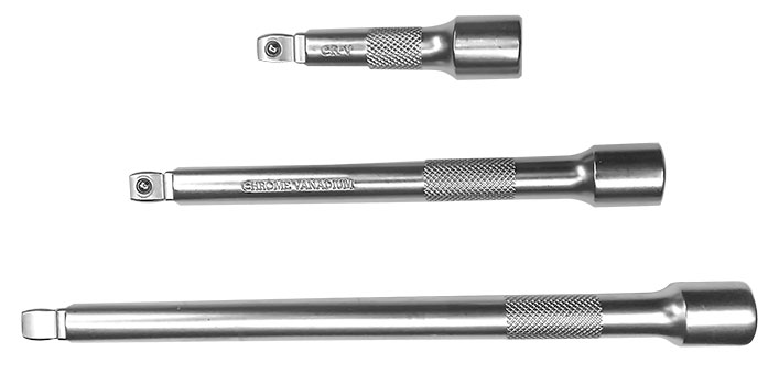 A67015 - 3 Pc Wobble Extension Bar Set 3/8""