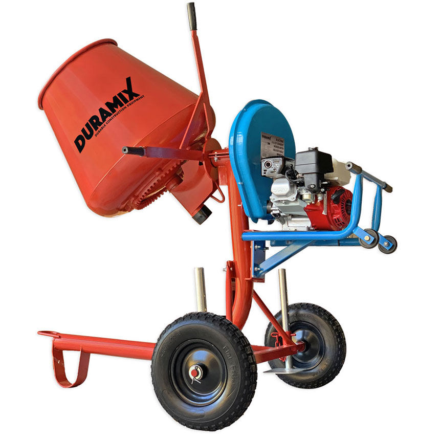 DMBM35HONDA-DURAMIX Professional 3.5CF Petrol Cement Mixer Powered by Honda