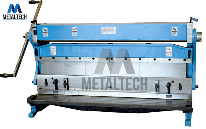 MTBRS1016-3in1 Brake, Roll and Shear Sheet Metal Work Machine