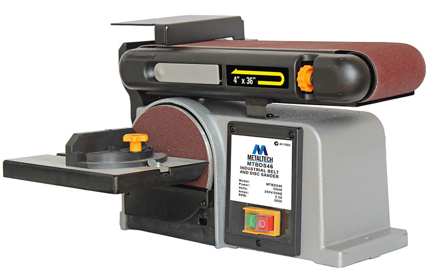 MTBDS46 - Metaltech Industrial Belt And Disc Sander
