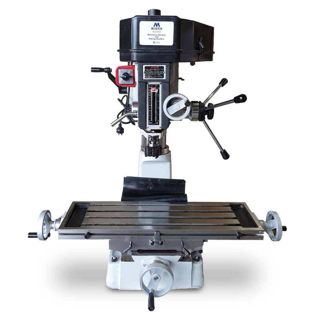 MTBDMM30 - BELT DRIVE DRILLING & MILLING MACHINE